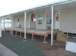 on Mobile Home Carport and Shed Area Patio to Carport Transition Deck ...