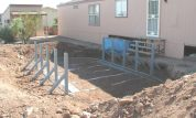 above ground pool installed in ground