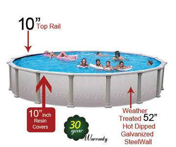 Platinum above ground pool