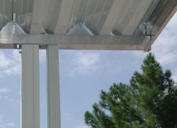 aluminum awning downspout
