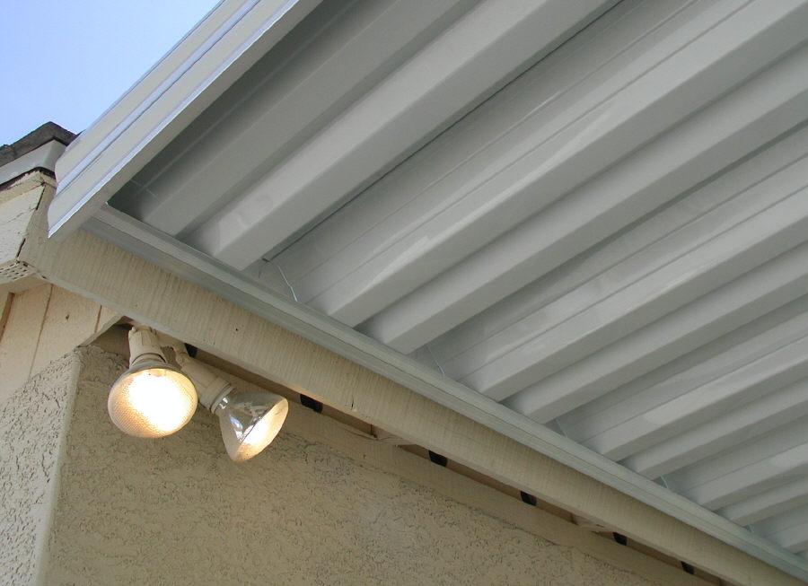 Flat Panel Awning : Patio awning