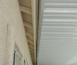 extruded awning a-rail and hanger