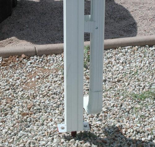 aluminum awning ground anchor