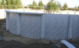 Diamond Star side wall installation