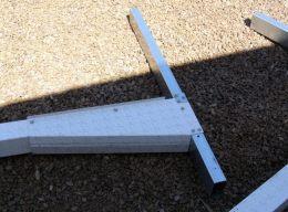 above ground pool brace assembly