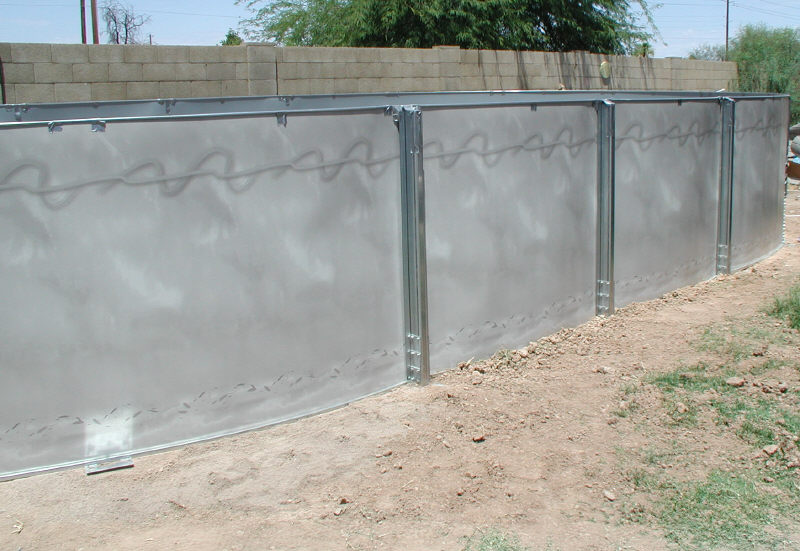 Pool Wall Installed