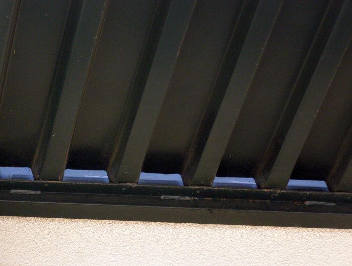 Panels In Awning Hanger