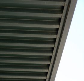 Steel Window Awning Gutter