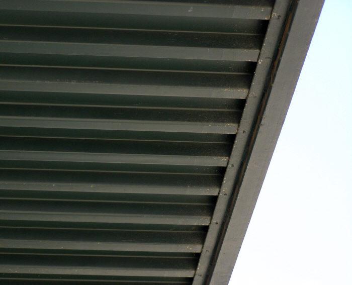 Steel Window Awning Gutter