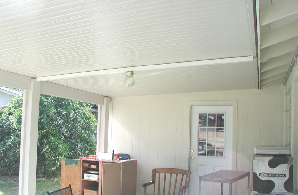 aluminum patio cover - alumawood solid