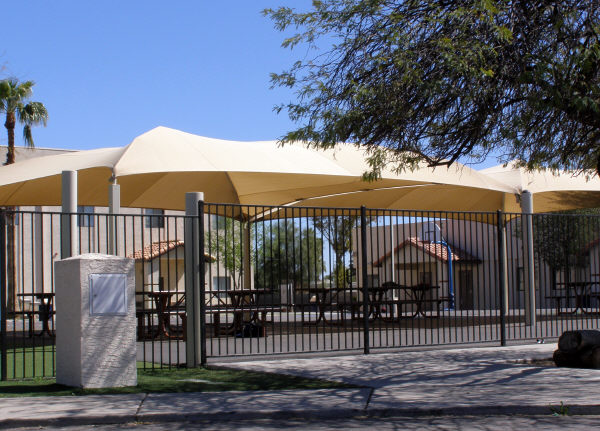 Fabric Shade Structure