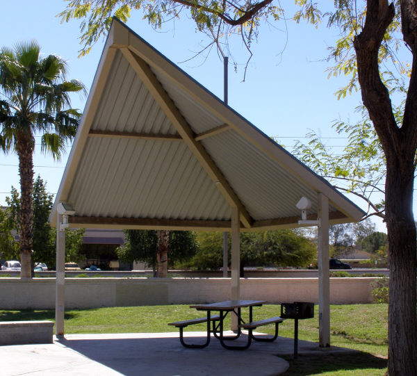 Triangle Shade Structure