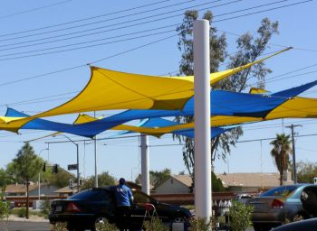 Shade Sail Structure