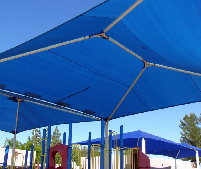 Shade Structure Over Play Ground