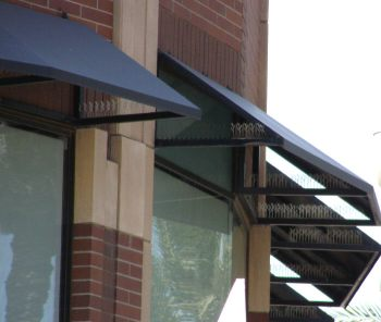 Frame For Commercial Steel Window Awnings