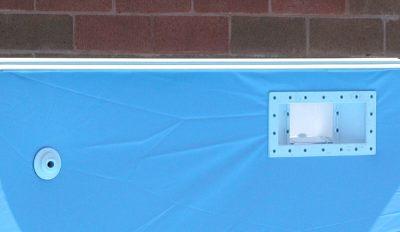 skimmer for vinyl pool