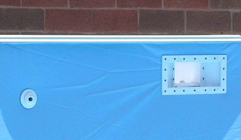 above ground pool skimmer