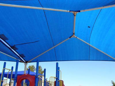 Steel Frame Shade Canopy