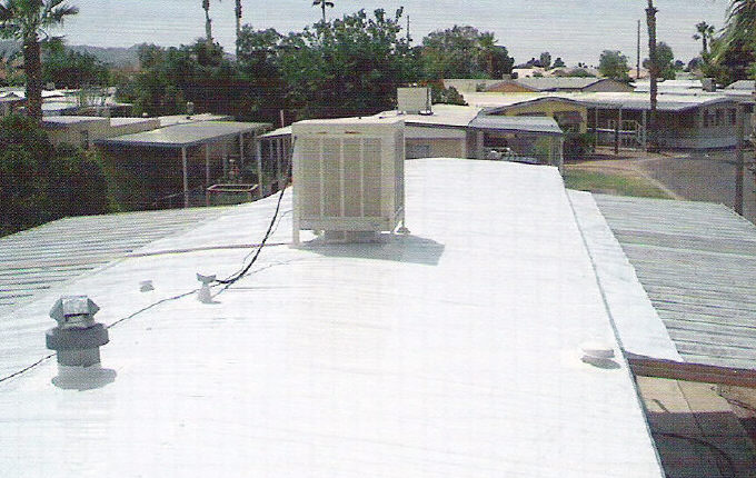 moblile home roof system