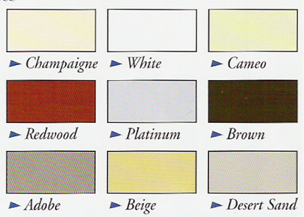 colors for lattice patio covers