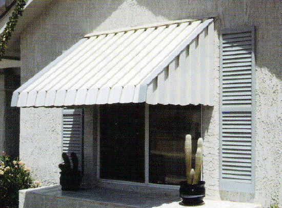 Aluminum Window Awnings