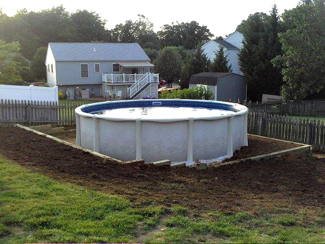 Level Ground for Pool