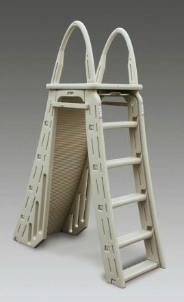 A Frame Pool Ladder