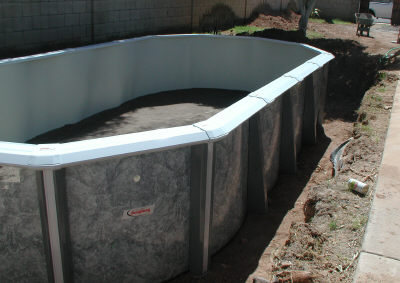 Pool In Ground Backfill