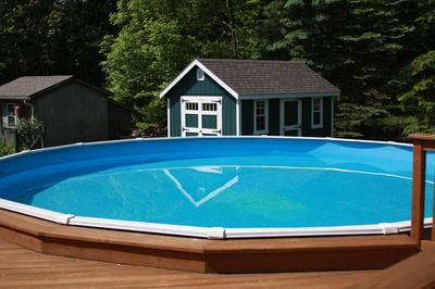Pool and Pool Deck