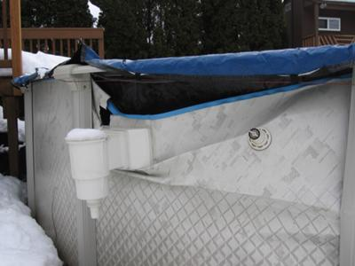 Above Ground Pool Damage