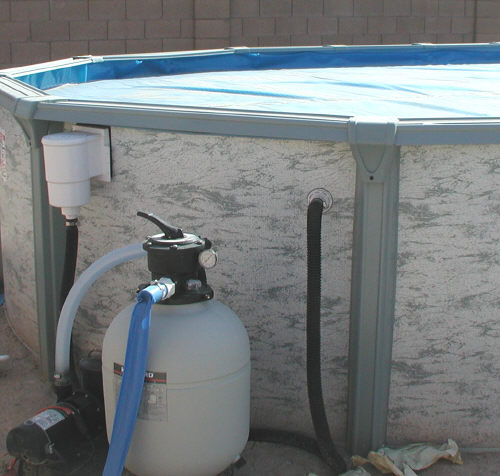 Above Ground Pool Equipment
