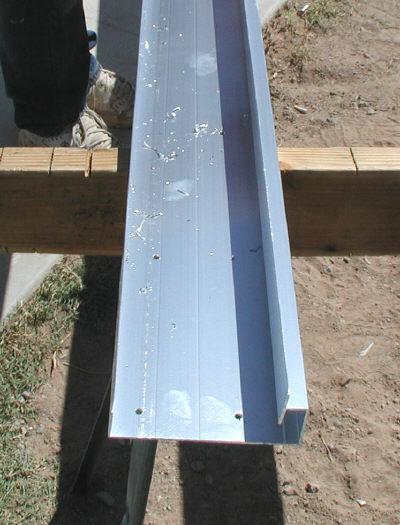 aluminum c hanger extrusion