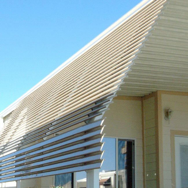 Aluminum Awning Pictures