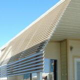 flex pans on awning