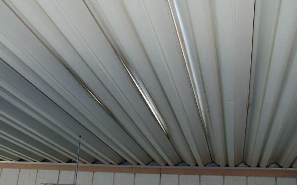 damaged awning panels