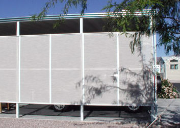 shade screens for awning