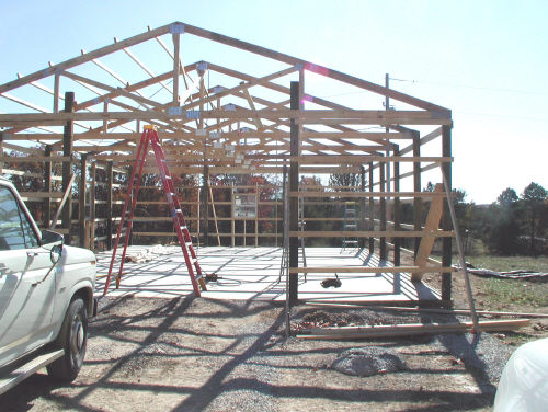 pole barn frame