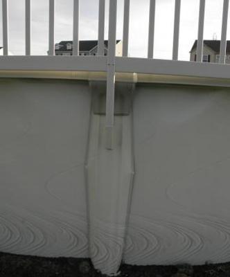 Pool Upright Bent