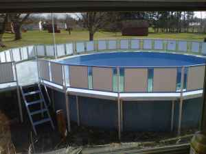 Bermuda King Above Ground Pool