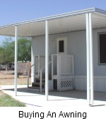 Buying an Aluminum Awning
