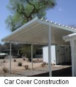 car cover construction