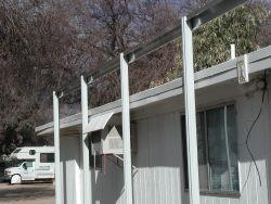 awning posts