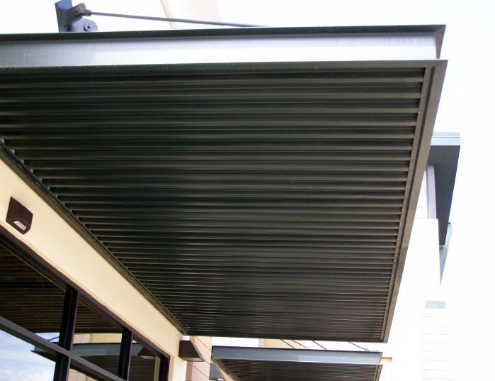 Commercial Awning Panels