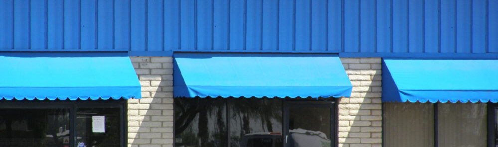 Commercial Canvas Window Awnings