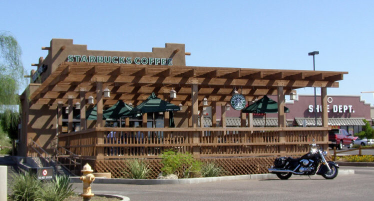 Commercial Lattice Patio Cover - Commercial Shade