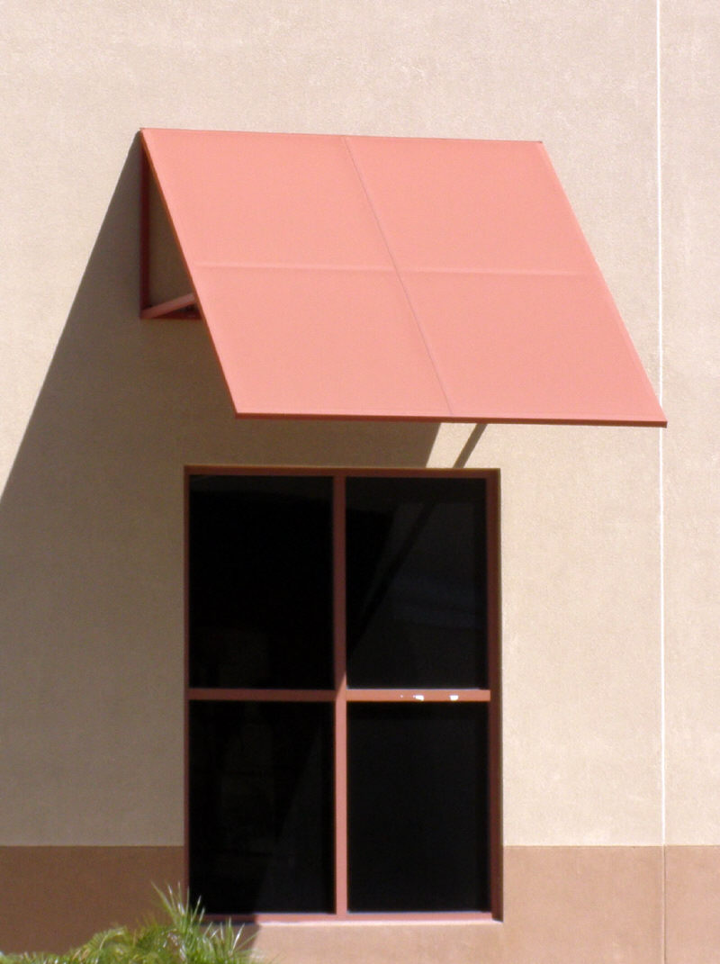 Small Commercial Window Awning