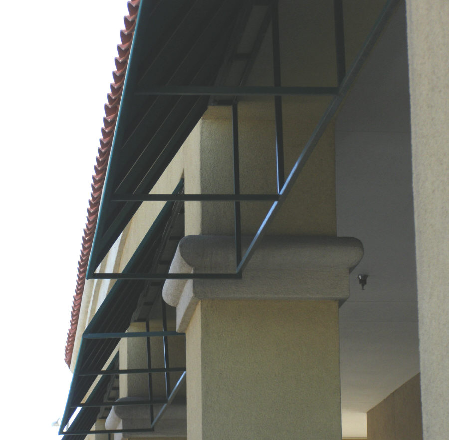 Commercial Window Awning Frame