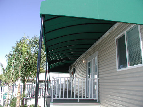 canvas fixed awning