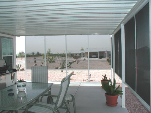 Aluminum Awning and Screens