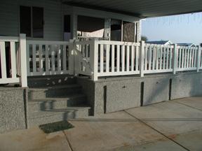 vinyl deck fencing